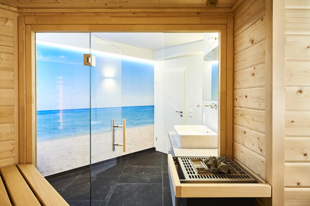Schade-Sauna-zu Hause